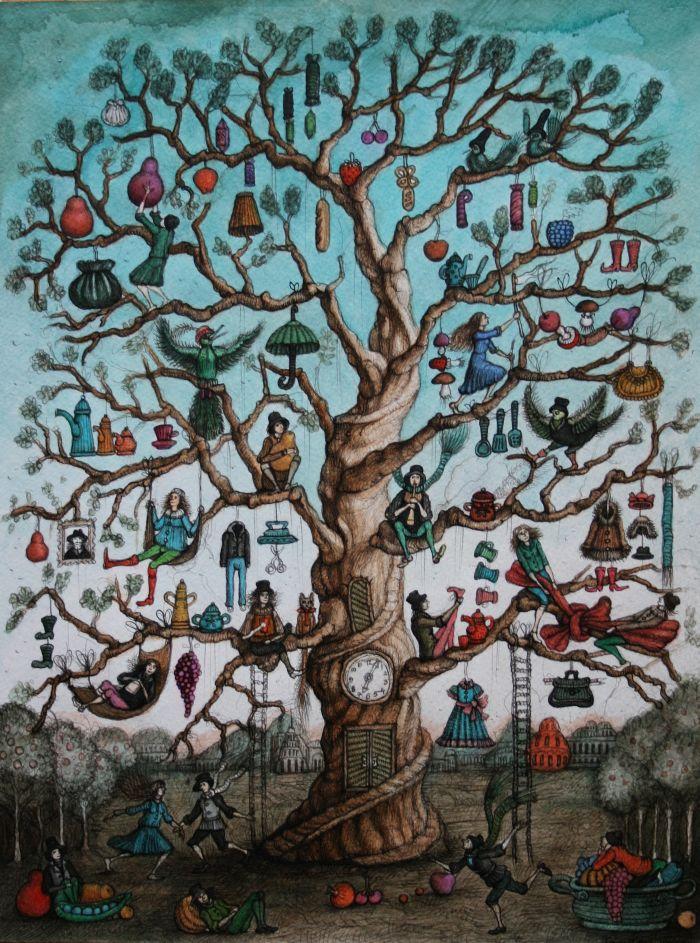"""""""The Happy Tree"""""""